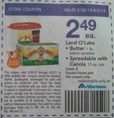 Like Land O'Lakes coupons? Try these...