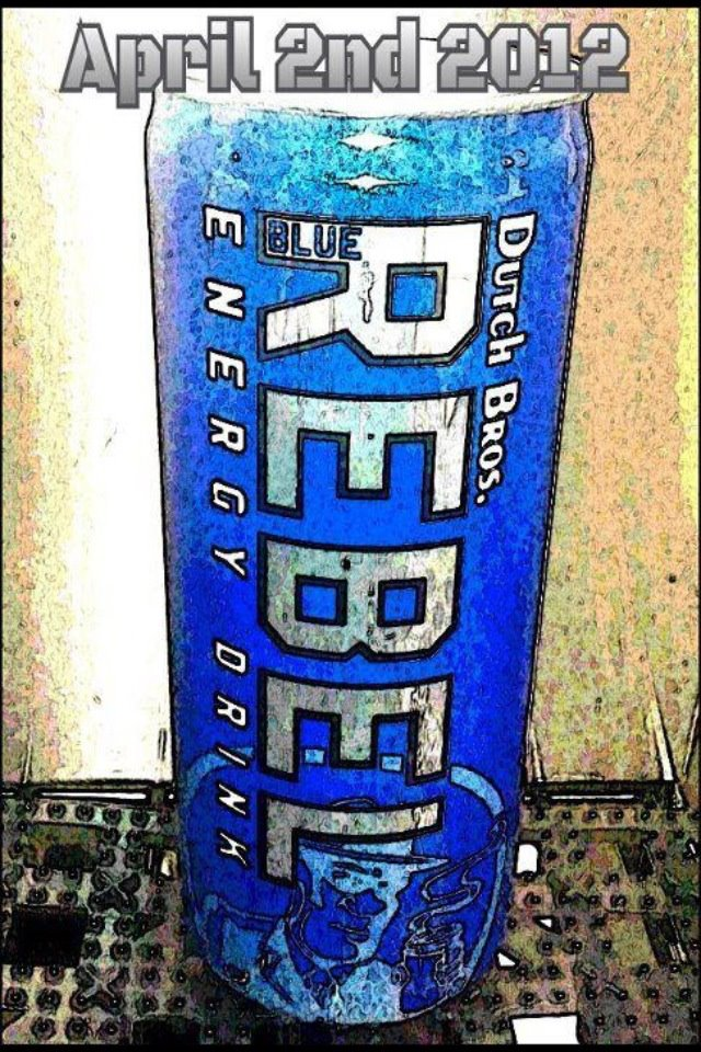 Tomorrow April 2nd Free Blue Rebel Energy Drink At