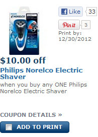 picture relating to Philips Norelco Printable Coupon identify Philips Norelco Electrical Shaver Simply $19.99 at Walgreens