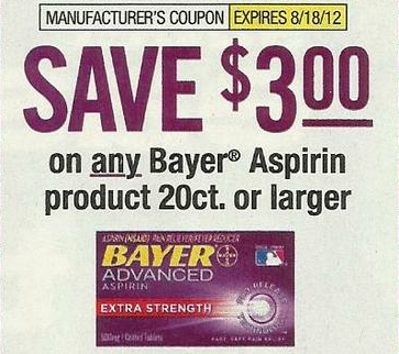 Buy Here Pay Here Ct >> Better than Free Bayer Asprin with $3.00/1 Coupon in 6/24 SS!