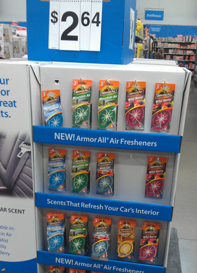 Armor All Air Freshener 3-pack Only $1.64 at Walmart With $1.00/1 Printable Coupon!