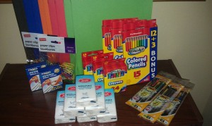 Reader Back to School Staples Shop! Under $5.00 spent including tax!