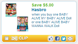 image relating to Alive Printable Coupon titled Low-cost Present Concept! Youngster Alive Dolls As Minimal As $5.00 at Kmart