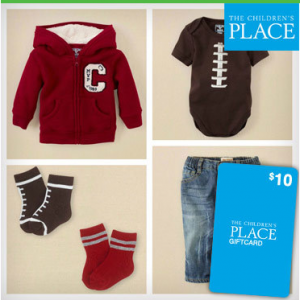 New Saveology Daily Deals Site Members: $10 The Children's Place Gift Card Only $5.00!