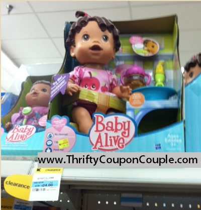 baby alive dolls as low as 500 at kmart check your store - Kmart Baby