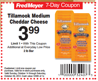 Fred meyer discount coupon