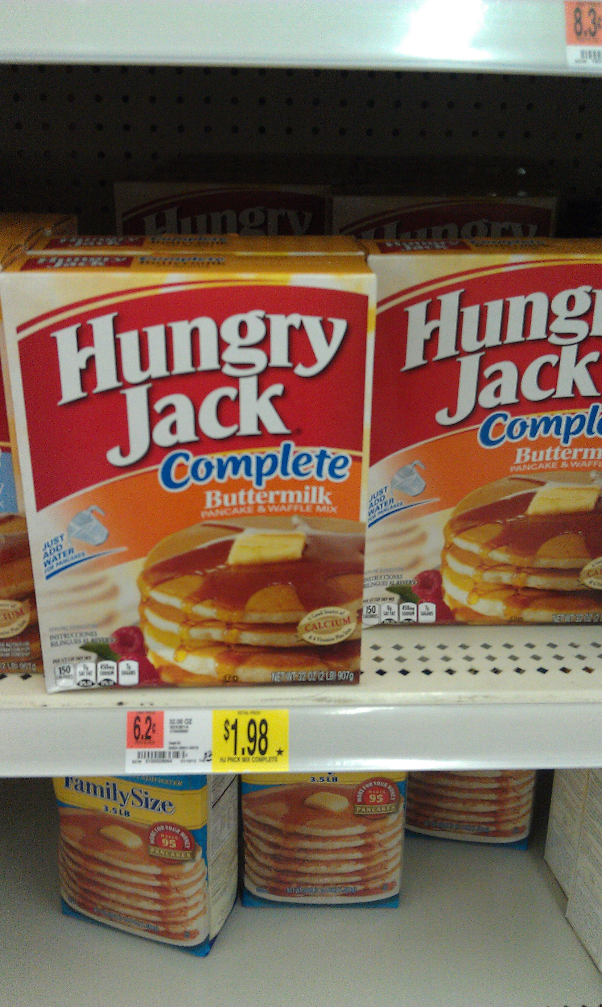 Hungry jack breakfast for christmas morning well here is a great deal at walmart on some hungry jack pancake mix and syrup i love how easy these mixes are to use ccuart Gallery