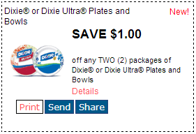 photograph regarding Printable Maybelline Coupons known as Refreshing RedPlum Printable Discount codes! Dixie Plates or Bowls