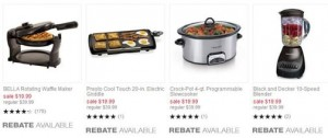 *HOT* Kitchen Appliances only $1.99 each after Rebate!