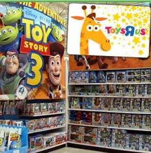 HOT!!! $10 Toys R Us Gift Card for only $3!!!