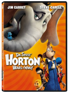 Horton Hears a Who DVD Only $3.99! Great Stocking Stuffer!