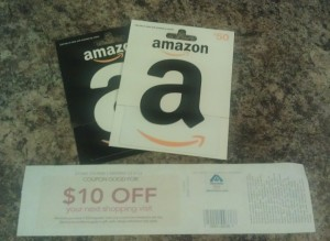 $10 Catalina WYB $100 in Gift Cards at Albertsons