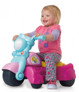 Rocktivity Walk N Roll Rider, Pink Is Only $24.99 On Amazon! Was $44.99! Great Christmas Gift Idea!