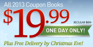 Today Only! Entertainment Books Only $19.99 + Free Shipping & Guaranteed Arrival By Christmas Eve!