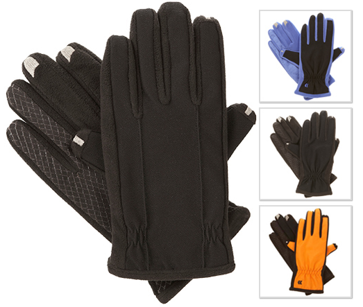 Isotoner Men's and Women's Smartouch 2.0 Gloves ? Use your Touch Screen Device While Wearing Gloves