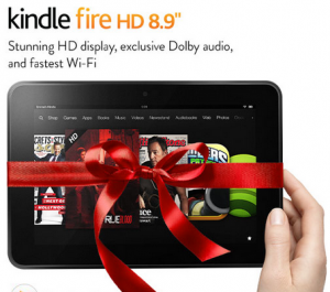 HOT! Today Only! Kindle Fire HD 8.9″ Only $249! Was $299! Plus Free Shipping!
