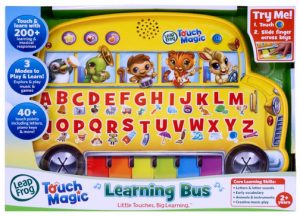 Christmas Gift Idea! LeapFrog Touch Magic Learning Bus Only $10.69! Was $21.99!