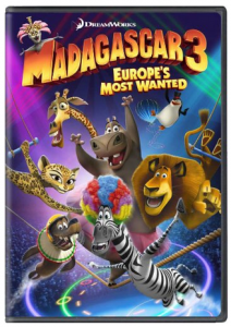Wow! Madagascar 3 Europe's Most Wanted DVD Only $9.99 or Blu-Ray+DVD Combo Only $14.99!