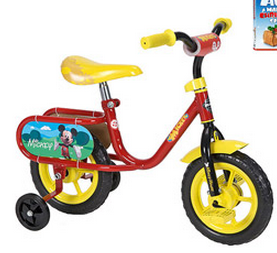 Hurry! 10″ Huffy Disney Mickey or Minnie Mouse Bike Only $25 + a Free Kids DVD From Walmart.com!