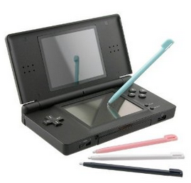 Nintendo DS Lite 4-piece Multi Color Stylus Set Only $1.93 + Free Shipping For Everyone!