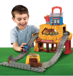 UPDATE: This is up to $22.49! Thomas & Friends: Take-n-Play Rumbling Gold Mine Run Only $14.99! Was $44.99! Includes Thomas Engine!