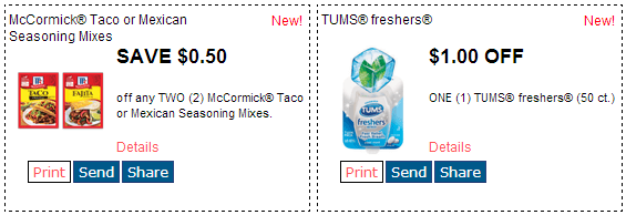 New Redplum Printable Coupons Mahatma Rice Chapstick Mccormick Taco Seasonings Hefty Cups Or Plates Much More
