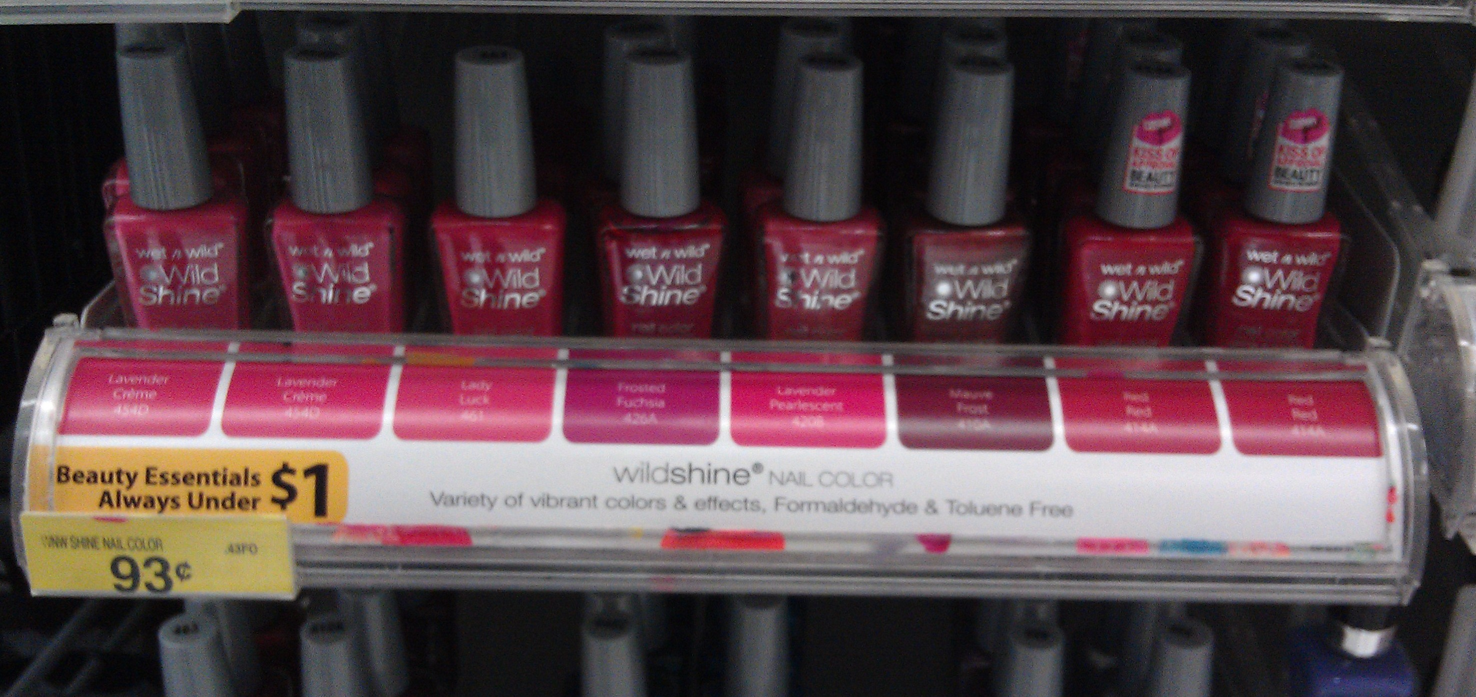Money Maker on Wet N Wild Nail Polish at Walmart!