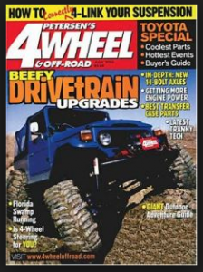 4 Wheel & Off Road Magazine Subscription for Only $3.99!! TODAY ONLY!!