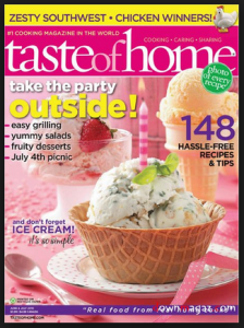 Exclusive Savings Today Only – Taste of Home Magazine Subscription for Only $4.50!