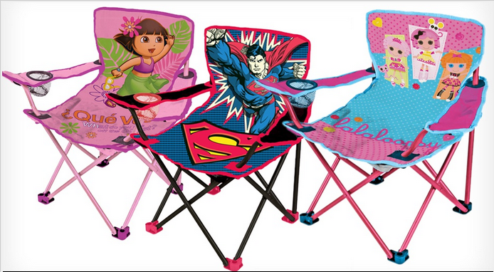 Children S License Kid S Camp Chairs For Only 11 99 6