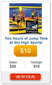 Fun for the Kids!! Pay Only $10.00 For 2 Hours of Trampoline Jumping at Sky High Sports in Spokane!