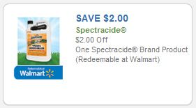 Walmart: Free + Money Maker Spectracide Bug Stop With $2.00/1 Printable Coupon!