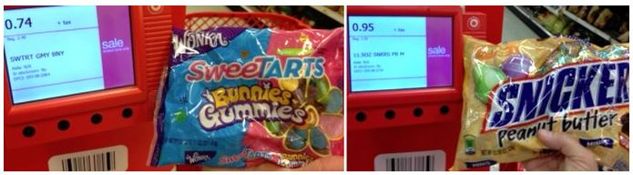 totaly target clearance candy
