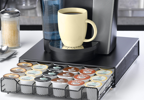 Nifty K Cup Rolling Drawer With 36 Pod Capacity And Pull