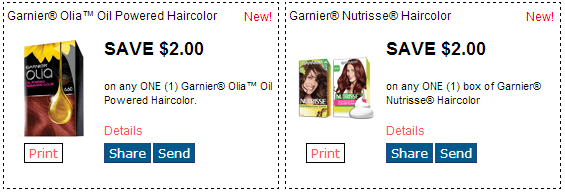 image relating to Garnier Fructis Printable Coupon named Contemporary RedPlum Printable Discount codes! Maybelline, Garnier, Scotties