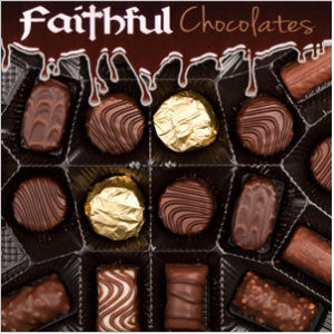 Need Chocolate? Coeur d'Alene Choc-a-holics! Check This Out! Save 50% at Faithful Chocolates!