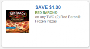 Rare Red Baron Pizza Printable Coupon + Movie Ticket Rebate!