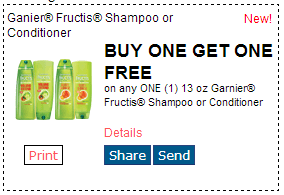 graphic relating to Garnier Printable Coupon named Incredibly hot Order Just one Acquire A single Totally free Garnier Shampoo or Conditioner