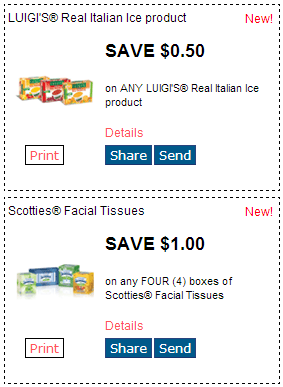 picture relating to Scotties Tissues Printable Coupon titled Fresh RedPlum Printable Discount coupons! Maybelline, Garnier, Scotties