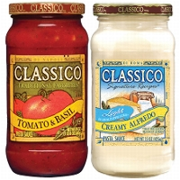 New Catalina Offer! Select Stores-Up to $3 in future savings, 3 or more Classico® Pasta Sauces
