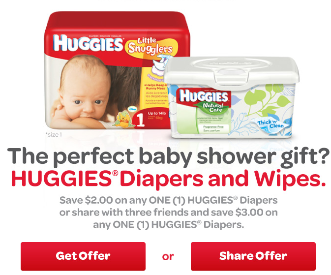 Discount coupons for diapers