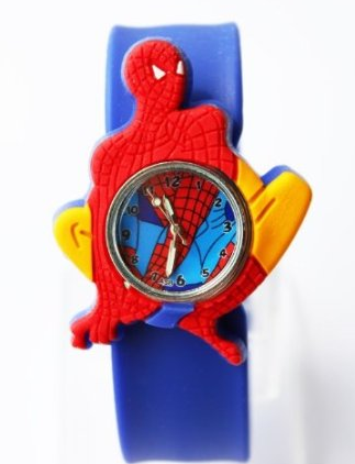 Spiderman boys kids slap on wrist watch for only ships free for everyone for Spiderman watches