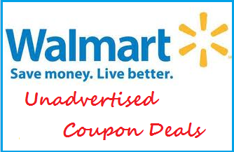unadvertised coupon deals