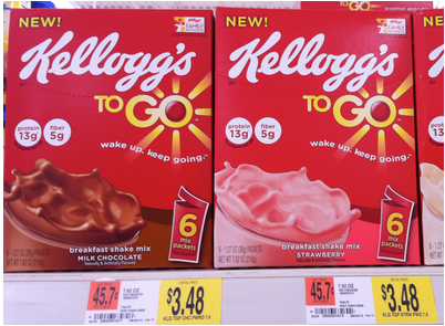 walmart kelloggs breakfast to go