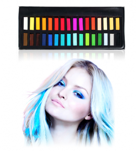 Smile Arts Blendable Hair Chalk in 24 Assorted Colors – Only $14.99 + FREE Shipping! TODAY ONLY!
