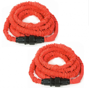 2-Pack: Tangle-Free Hose – Automatically Expands to up to 25′ When in Use for Only $24.99 + FREE Shipping!
