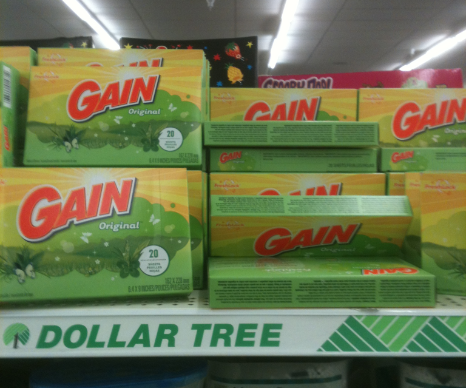 Gain Fabric Softener Sheets Only 50 At Dollar Tree