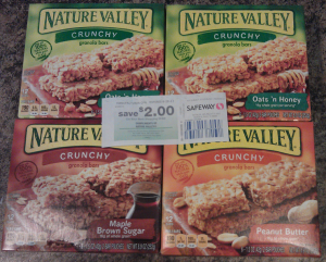 HOT Prices on Nature Valley Granola Bars or Soft Baked Oatmeal Squares at Safeway!