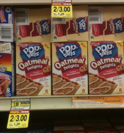Oatmeal Delights Pop-Tarts Only $1.00 at Albertsons!
