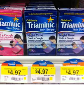 Triaminic Cold Cough Thin Strips Only 197 At Walmart With High
